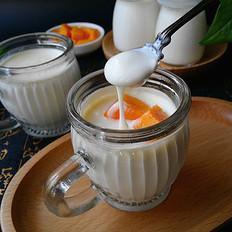 自制醇滑酸奶(淡奶油版)