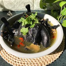 乌骨鸡枸杞汤