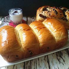 红豆莲子大面包