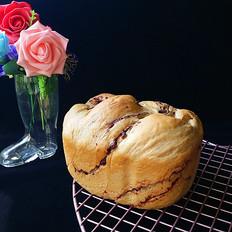 咖啡酸奶豆沙面包(独创配方全新做法)