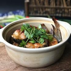 砂锅焗鱼块