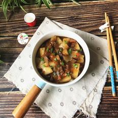 黑椒牛肉烩冬瓜的做法