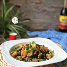 辣椒炒海鲜的做法