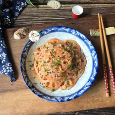凉拌麻辣藕片的做法