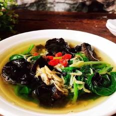 木耳虾皮汤