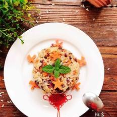 熏肉香菇炒饭