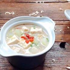 冬瓜豆腐虾皮汤