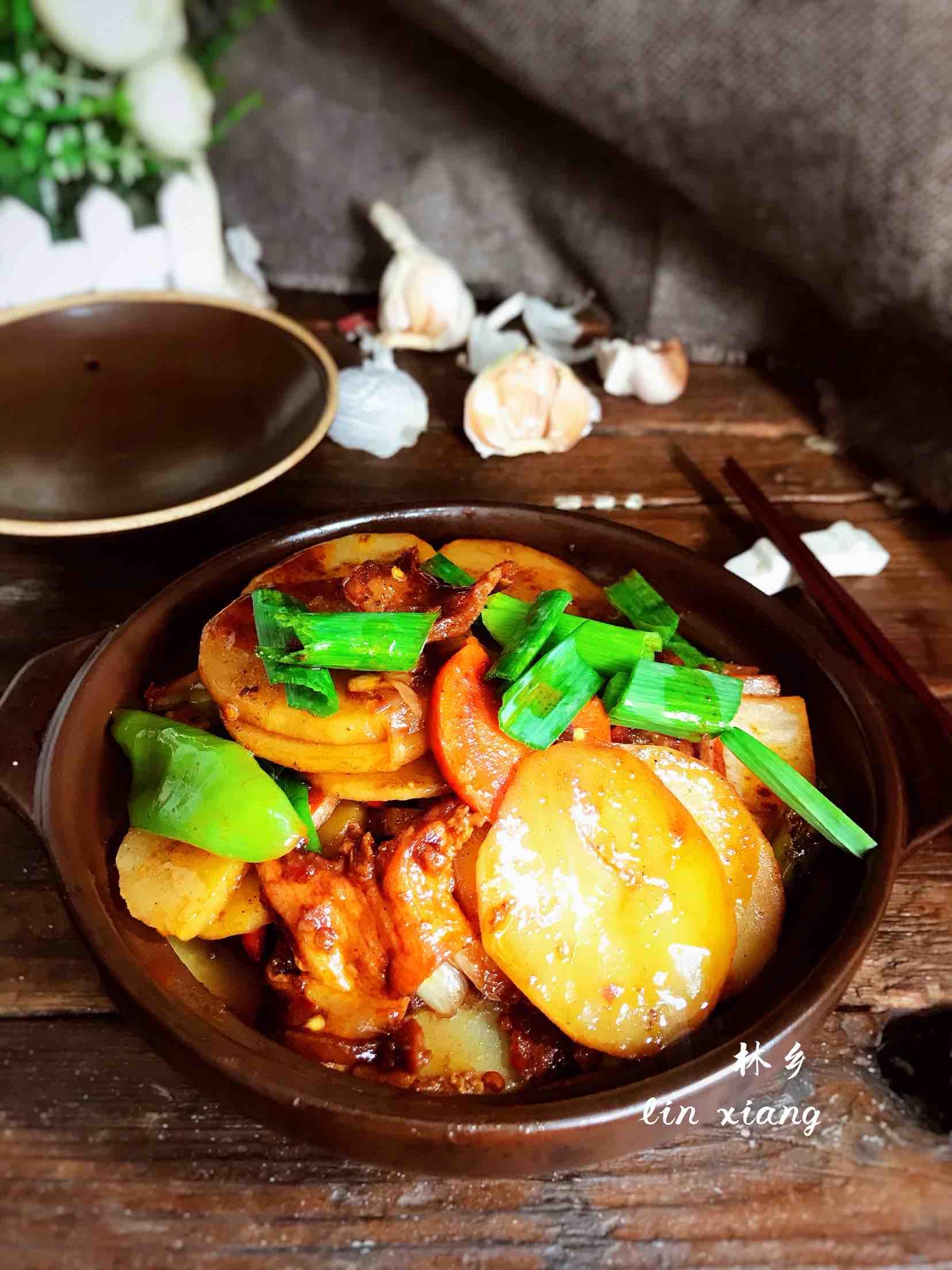 鱼放什么一起煮好吃干锅土豆片的做法