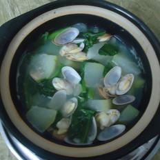 蛤蜊冬瓜青菜汤