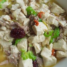 羊肉当归豆腐汤