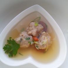 清淡的鱼丸汤