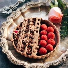 树莓核桃挞