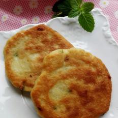 花生豆渣饼