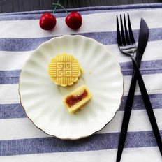 凤梨绿豆糕