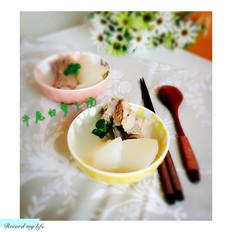 牛尾白萝卜汤