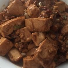 肉末香菇酱烧嫩豆腐