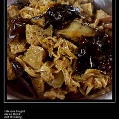 上海菜四喜烤麸