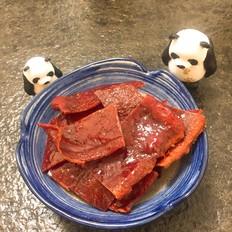 自制猪肉脯