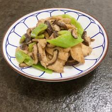 香菇炒鸡胸