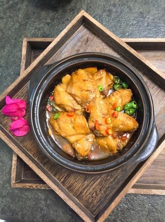 香焖鸡翅煲