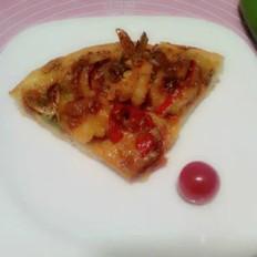 牛肉大虾披萨