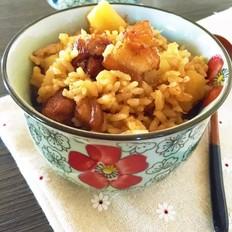 土豆五花肉焖饭