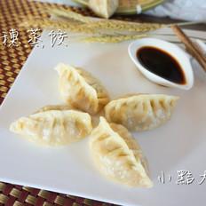 土豆鸡肉麦穗蒸饺