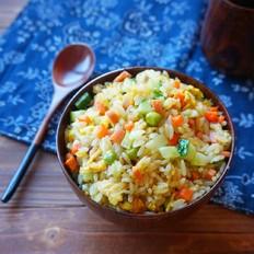 咖喱杂蔬炒饭