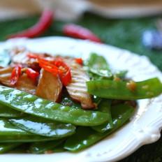 万古长青(蒜蓉荷兰豆)