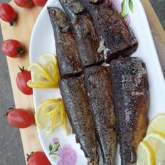 柠香煎秋刀鱼