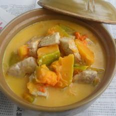 芋头南瓜椰浆煲