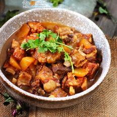 萝卜煲羊排