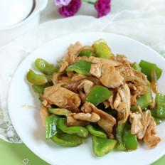 青椒鸡肉片
