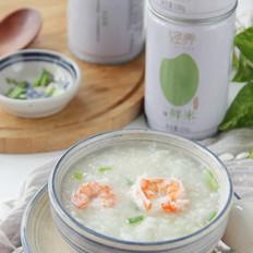 鲜虾芹菜粥