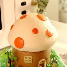 蘑菇蛋糕的做法