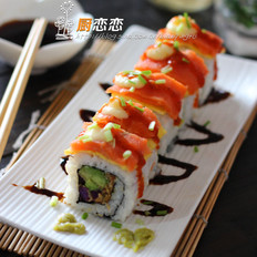 肉蛋三文鱼寿司