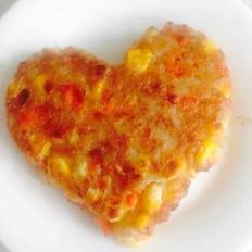 豆渣玉米胡萝卜饼