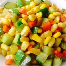 玉米黄瓜粒