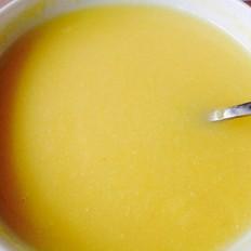 玉米燕麦片糊