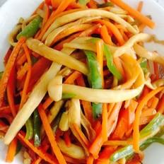 青椒胡萝卜海鲜菇