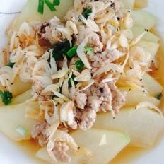 猪肉虾米蒸冬瓜