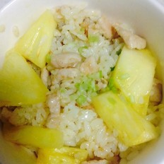 猪肉菠萝炒饭