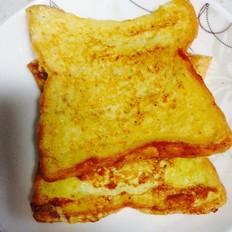 黄油鸡蛋纯牛奶煎吐司