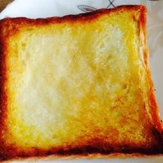 鸡蛋蜂蜜烤吐司