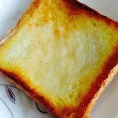 黄油蜂蜜烤吐司