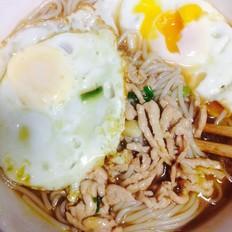 鸡蛋猪肉米粉