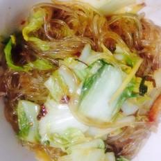 酸辣白菜猪肉炖粉条