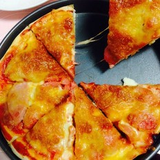 火腿肠披萨