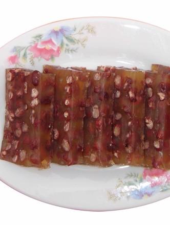 红豆马蹄糕的做法