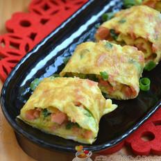 香蔥火腿腸蛋卷